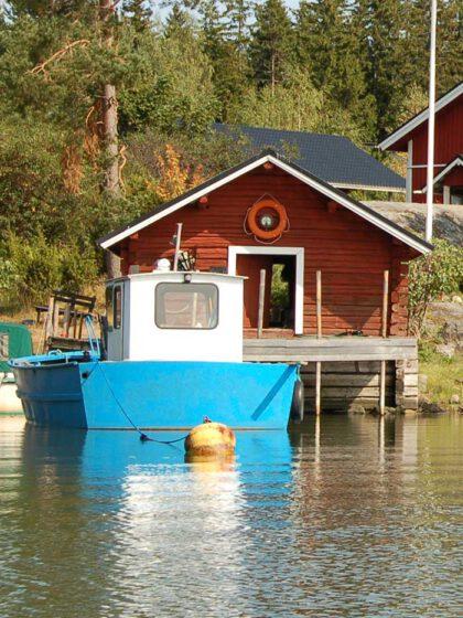 Sundö arbetsbåt och transportbåt